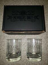 Heavy Base Whiskey Wine Glasses - Set of 2 KCCO Chive Rocks Tumblers