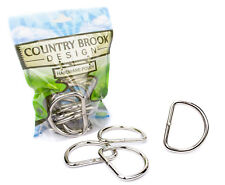 50 - Country Brook Design® 2 Inch Heavy Welded D-Rings