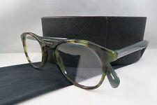 Prada VPR 19S LAB-1O1 Green Havana New Authentic Eyeglasses 48mm w/Case