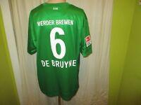 "Werder Bremen Nike Heim Trikot 2012/13 ""Wiesenhof"" + Nr.6 DE BRUYNE Gr.XXL"