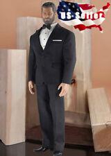 1/6 Men Black Classic Business Suit For MUSCULAR Figure TBL PHICEN M34 M35 ❶USA❶
