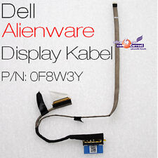 DELL ALIENWARE LED LCD DISPLAY TFT KABEL 0757TW 0F8W3Y FOXCONN DC020000ZN00 NAP0