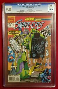 G.I. JOE starring SNAKE EYES (TRANSFORMERS appearance) #142 CGC 9.8 - NEWSSTAND