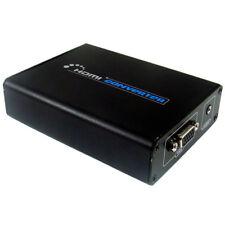 B03 HDMI a VGA + 3.5mm video conversor de audio transductores adaptador TV PC monitor DVD