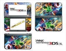 SKIN STICKER AUTOCOLLANT - NINTENDO NEW 3DS XL - REF 197 LEGO MARVEL
