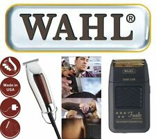 WAHL WIDE DETAILER NETZ -/ TRIMMER  + WAHL FINALE RASIERER 0,4MM - 4,5MM T-BLADE