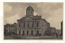 KELSO,THE TOWN HALL  OLD PRINTED POSTCARD