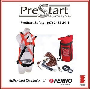 FERNO Roofers Safety Harness Kit - Height Safety, Roof Safety, Roof workers kit