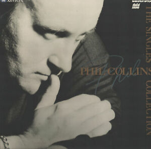 Brand New!! Phil Collins The Singles Collection Pioneer Artists Laserdisc SEALED