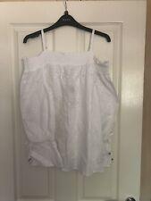BNWT Ladies Matalan White Gypsy Style Top Size 14