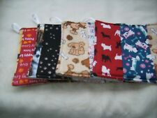 Handmade hot pad potholder jelly roll random pick Dogs