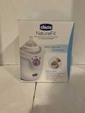 Chicco Bottle & Baby Food Warmer for Feeding & Travel, Genuine NaturalFit