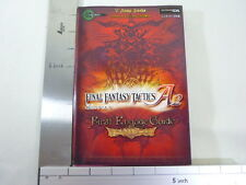 FINAL FANTASY TACTICS A2 Game Guide Japan Book DS VJ *