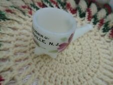 Vintage Milk Glass Lovely Pipe Souvenir A Prize to find this 1 Great Addition