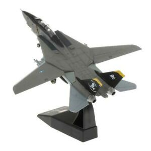 1:100 Diecast   Model Toy F-14 Tomcat Super Flanker Jet Fighter Aircraft