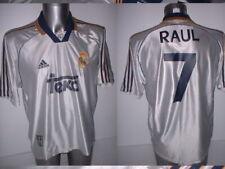 "Spain Espana RAUL Shirt Jersey Football Soccer Adidas Adult XL 46"" Real Madrid"