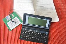 Rara vez equipo vintage citizen Electronic Diary ed-9000