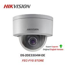 HIKVISION DS-2DE3304W-DE 3MP IP67 POE 4X P&P Auto Zoom 2.8-12MM MINI PTZ Camera