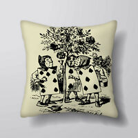 Roses Alice Wonderland Printed Cushion Covers Pillow Cases Home Decor or Inner