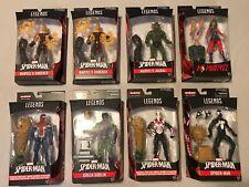 Marvel Legends Spider-Man Sandman BAF Complete Set Of 8 Goblin 2099 Shocker VAR
