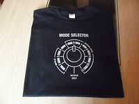RETRO SPACE ECHO MODE SELECTOR T SHIRT DESIGN S M L XL XXL