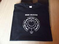 RETRO SPACE ECHO MODE SELECTOR T SHIRT DESIGN S M L XL XXL