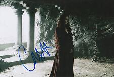"Carice van Houten ""Games of Thrones"" signed 8x12 inch photo autograph"