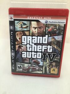 Grand Theft Auto IV  -- Greatest Hits Edition (Sony PlayStation 3 PS3, 2008)