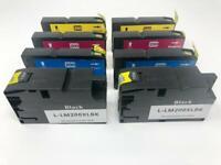 8 Ink Cartridges 200XL for Lexmark OfficeEdge Pro 4000 4000C 5500 5500T Printer