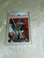 Alex Verdugo 2018 Topps Finest Red Refractor #4/5 With Rc Logo PSA 9 Red Sox
