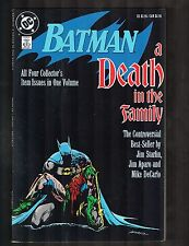 Batman: A Death in the Family ~ Starlin Story / Aparo Cvr & Art~ 1989 (5.0) WH