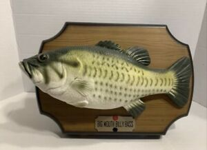 1999 BigMouthBillyBass SingingFish 2 Songs Take Me to the River & Dont Worry