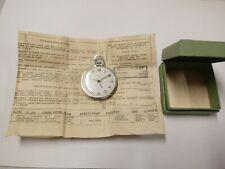 Raketa USSR, CCCP vintage pocket watch with box & papier
