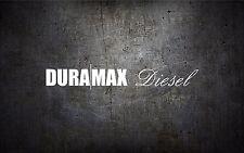 Duramax Diesel 22'' windshield banner vinyl car sticker decal