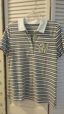 NWOT! Talbots Petite Large Striped/Floral Polo Shirt