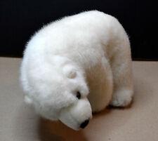"Polar Bear 8"" Long Plush Stuffed Animal Toy from Sea World"