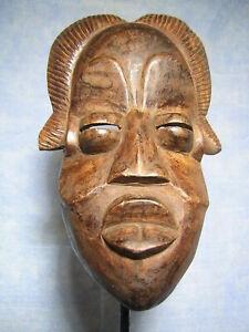 MASQUE BéTé ART AFRICAIN ANCIEN STATUE AFRICAINE VINTAGE AFRICAN MASK AFRIQUE