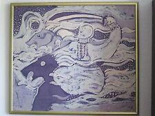 Painting on Silk. Batik. Ukrainian artist Zhanna Fedushchak.