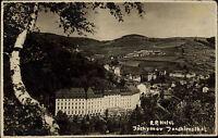 Jáchymov Joachimsthal Tschechien alte s/w AK ~1920/30 Gesamtansicht mit RP Hotel