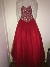 Vestidos De 15 Anos Red Ball Gown Dress for 15 Years Quinceanera Dresses
