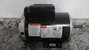Dayton 30PT82A 1-1/2 HP 1725 RPM 115/230VAC Cap-Start/Run General Purpose Motor