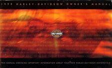 1999 HARLEY-DAVIDSON ALL MODELS OWNERS MANUAL -FLSTS HERITAGE SPRINGER-XLH-FLSTF