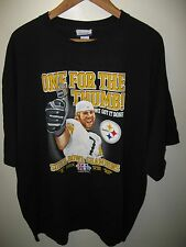 Steelers 2006 Tee - Pittsburgh Super Bowl XL Champions Football Ring T Shirt XXL