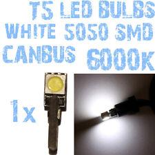 N° 1 Gloeilamp LED T5 CANBUS 6000K SMD 5050 Koplampen Angel Eyes DEPO FK 1A3 1A3