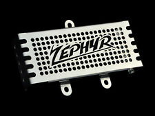 KAWASAKI ZEPHYR 750 (1992 - 1998) STAINLESS STEEL RADIATOR GRILL GUARD COVER