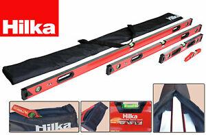 HILKA Spirit Level Kit 5 Piece Professional Torpedo Box Level Set CHOOSE ITEMS
