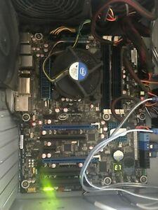 Intel i7-3770 Quad-Core 3.9GHz LGA 1155 + Intel DZ68BC MOBO + 16GBs RAM