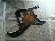 Custom Tooled Leather Pickguard Fender Precision P Bass