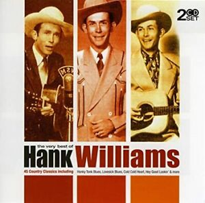 Hank Williams: The Very Best Of - 45 Country Classics- Music CD *BRCollectables*