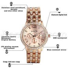 2017 Luxury Women's Men Fashion Watch Stainless Steel Band Quartz Wrist Watches